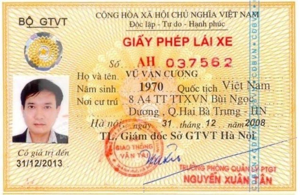 Dịch vụ làm bằng lái xe giả uy tín – chất lượng
