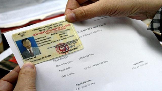 GPLX Làm bằng lái xe giả có hồ sơ gốc 2020