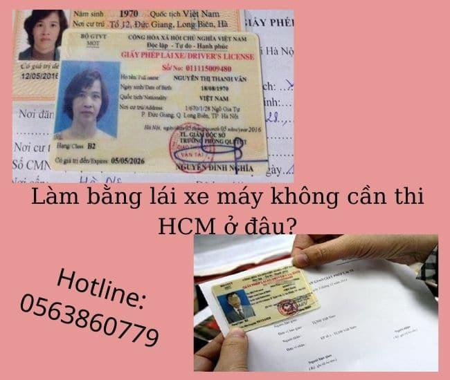 Tại sao nên làm bằng lái xe máy không cần thi HCM?