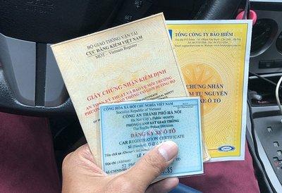 giấy đăng kiểm xe ô tô
