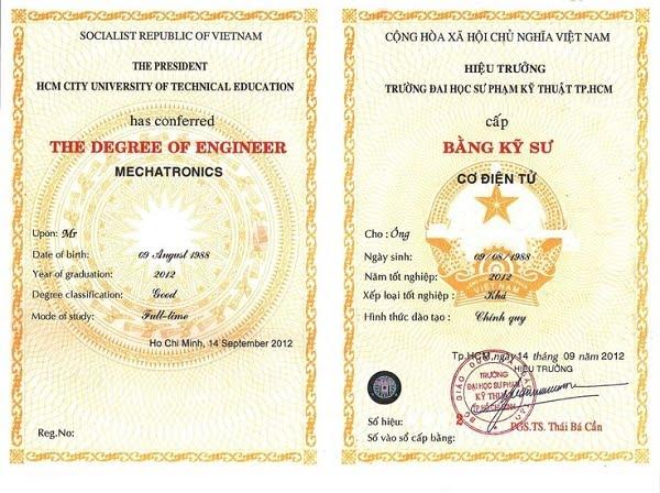 Làm bằng cao đẳng có hồ sơ gốc | Dịch vụ uy tín, chuyên nghiệp
