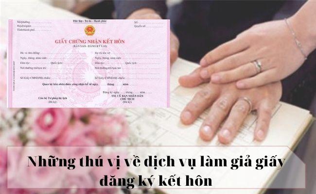 Đơn vị nhận làm lại giấy đăng ký kết hôn