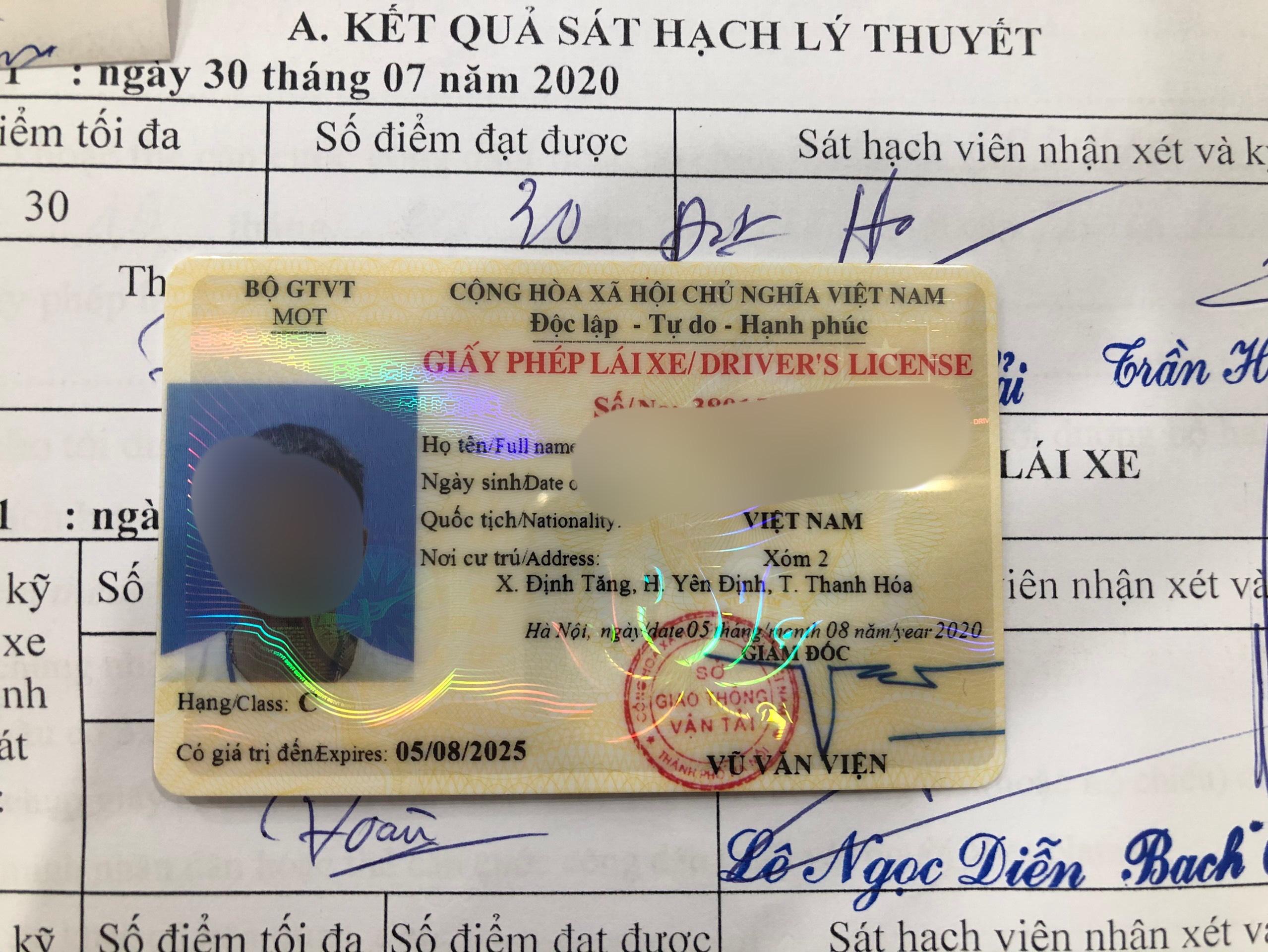 Giới thiệu dịch vụ làm giấy phép lái xe giả uy tín